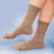 Носки из верблюжьей шерсти, размер 27 фото