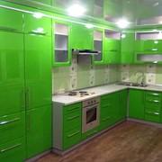 Кухня из пластика в Минске на заказ фото