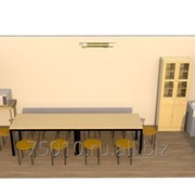 Модульные столовые фото