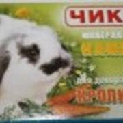 Минеральный камень для декоративных кроликов Чика фото