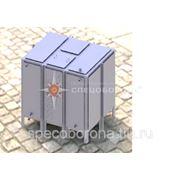 Бак для воды прямоугольный БВ-6 Серия 07.900-2 фото