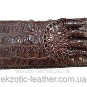 Портмоне из кожи крокодила лапа 927 фото