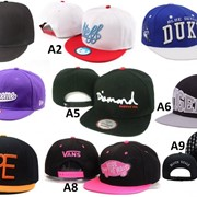Кепка с прямым козырьком, Бейсболка, Snapback Vans, Rebel Eight, Dope, Neff, Diamond. В наличии фото
