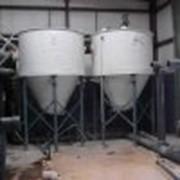 Бункера и силосы для сыпучих веществ фото