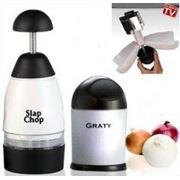 Измельчитель продуктов ручной Slap Chop (Слэп Чоп) фото