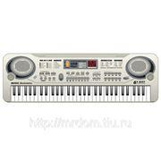 Пианино mq-811usb с микрофоном, от сети, в коробке 54,1*17,1*5,2см (831429) фото