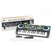 Пианино ms003 с микрофоном, на батарейках, в коробке 43*16*5,3см (833380) фото