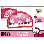 Пианино 310544 hello kitty на батарейках в коробке 50x33x9см (830911) фото