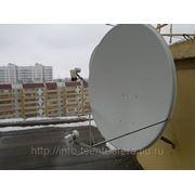 Стандартная установка антенны 90 см фото