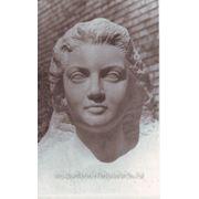 Скульптурный портрет девушки с фотографии в мраморе, скульптура в мраморе фото