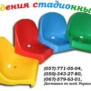 Сиденье (кресло) стадионное пластиковое. фото