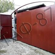Ворота уличные (въездные) металлические  фото