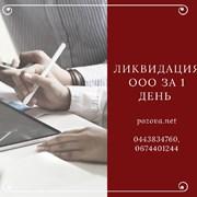 Ликвидация ООО за 1 день Днепр фото
