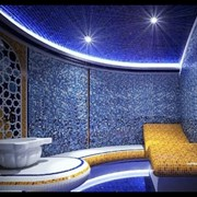 Светодиодное освещение для Турецкой бани (Хамам) фото