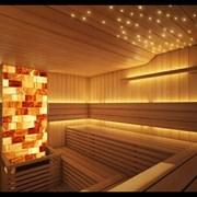 Декоративное освещение в сауне фото