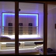 Декоративное освещение для инфракрасной сауны фото