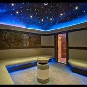 Декоративное освещение для паровой комнаты  фото