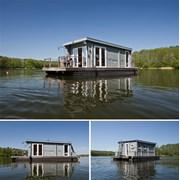 Хаусбот, плавучий дом, плавдача. фото
