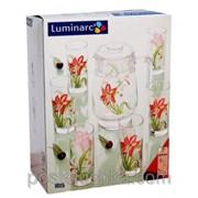 Набор для напитков Luminarc IRIS G4888 7 предметов фото