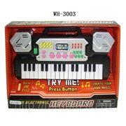 Пианино музыкальное 32 клавиши, в коробке, 28,5х20,5х5см (821412) фото