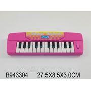 Пианино bo-3 со звуком, на батарейках, в пакете 27,5*8,5*3см (834900) фото