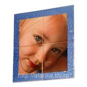 Плитка (10х10) с любым изображением фото