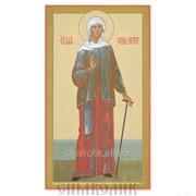 Икона св. блж. Ксения Петербугрская Артикул: 001021ид9002 фото
