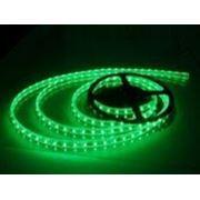 Лента светодиодная влагозащищенная IP68 зеленая 12V SMD3528 300led/рулон (5м.) фото