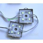 Светодиодный кластер SMD 5050 4LED Metal IP67 фото