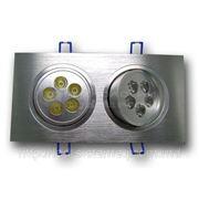 Точечный светодиодный светильник DL10W1CW фото