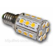 Светодиодная лампа LED-E14 24 SLT5050 4.8W 220V TOWER-4,8 Вт, 310-360 Lm. фото