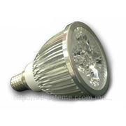 Светодиодная лампа LED-E14 5 PLT 5W 220V SPOT, 5 Вт-500 Lm. фото