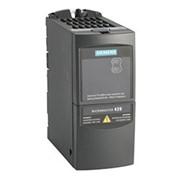 Преобразователь частоты Siemens MicroMaster 420 0,18 кВт 1-ф/220 6SE6420-2AB12-5AA1 фото