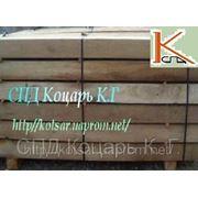 Шпала узкоколейная деревянная шахтная фото