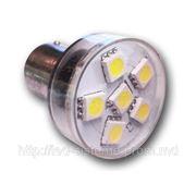 S25 6 PCS convex LED фото
