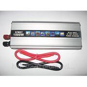 Инвертор 12/220В UKC 1500H- 1500Вт. фото