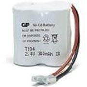 Аккумулятор T104/30AAK2BMU 300mAh,2,4v GP фото