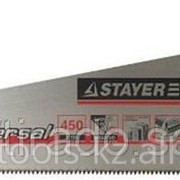 Ножовка Stayer Universal по дереву, двухкомпонентная рукоятка, закаленный Код: 1510-50_z01 фото