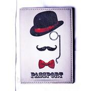 """Обложка на паспорт """"Джентельмен"""" фото"""