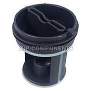 Вставка в фильтр помпы Indesit 045027 черная для кода 092264, D-57мм, Н-64мм фото