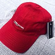 Кепка Tommy Hilfiger с большой эмблемой красная фото