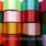 Атласная лента - 5 см 1рул - 27м 2 фото