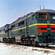 Тепловоз магистральный 2ТЭ-116, 1989 г. фото