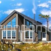Ирис - дачный каркасный дом фото