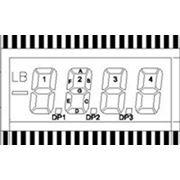 Сегментный ЖК-индикатор ITH-E0805GRNP фото