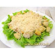 Салат с куриным филе фото