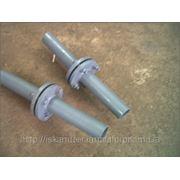 Фланец изолирующий стальной Ду40 Ру16 ГОСТ12820 (изолирующее фланцевое соединение) фото