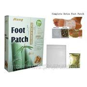 Целебные пластыри на стопы «Foot Patch» для выведения токсинов. фото
