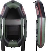 Одноместная лодка для рыбалки Vulkan V190LSP(ps) слань+брус+передвижное сидение фото