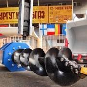Бур гидравлический шнековый для экскаваторов. фото